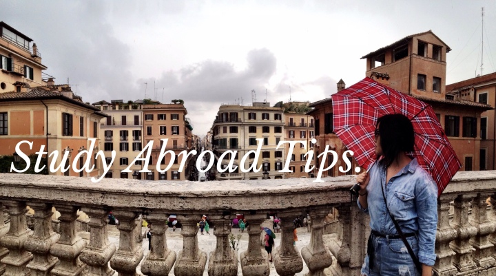 Study Abroad Tips.