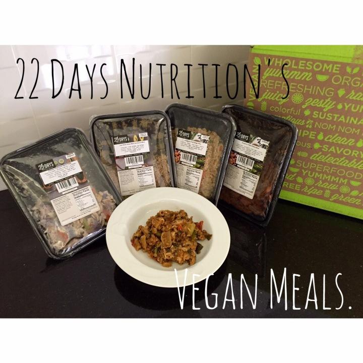 22 Days Nutrition's VeganMeals.