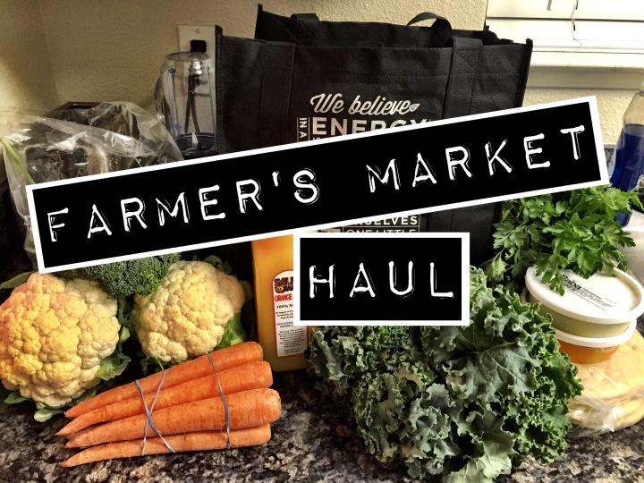 Farmer's Market Haul.