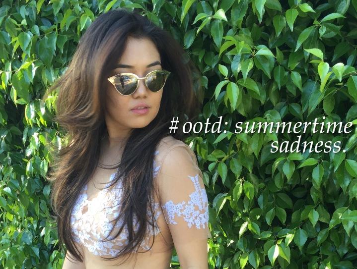 #ootd: Summertime Sadness.
