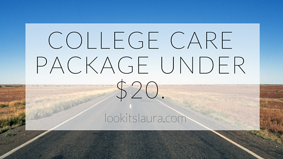 College Care Package Under $20.