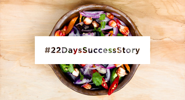 22 Days Vegan Success Story.
