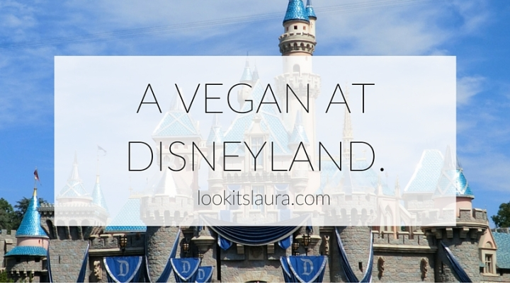 A Vegan at Disneyland.