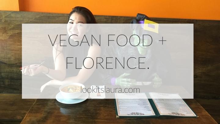 VLOG: Vegan Food +Florence