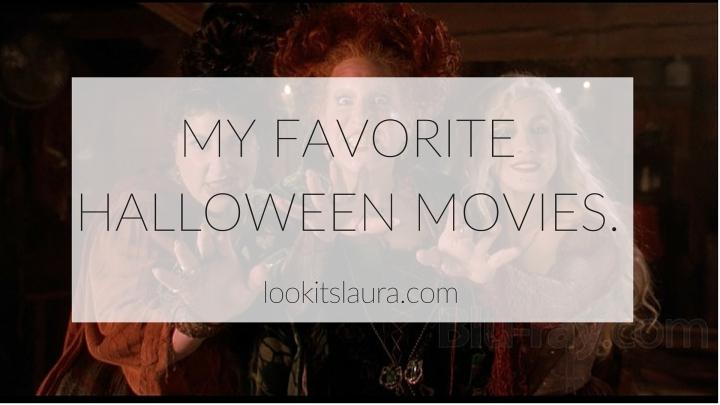 My Favorite HalloweenMovies.
