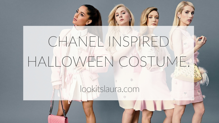 Chanel Inspired Halloween Costume.