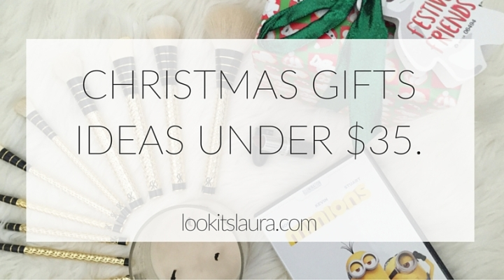 Christmas Gift Ideas Under $35
