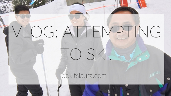 VLOG: Attempting to Ski.