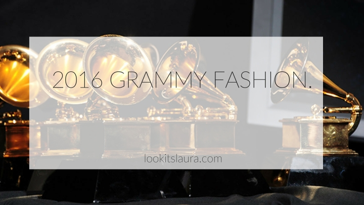 2016 Grammy Fashion.